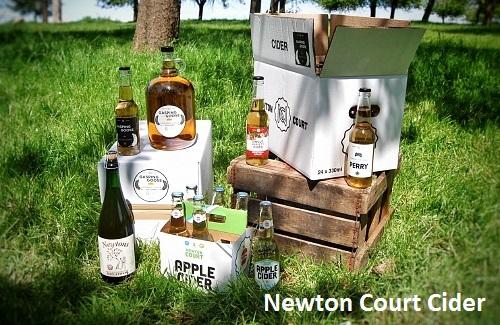 newton court cider