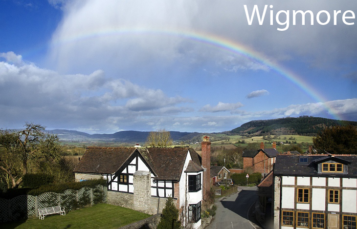 wigmore rainbow with label