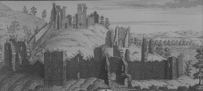 wigmore castle ruins