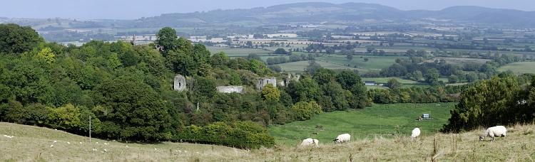 wigmore castle_Panorama1